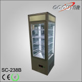 High Quality Favorable Price Commercial Four Sides Glass Refrigerated Showcase (SC-238B)