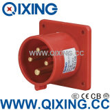Cee Flush Mounted Male Socket with International Standard (QX-819)