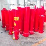 Singleacting Multistage Telescopic Hydraulic Cylinder