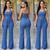 High Qualtiy Sexy Denim Jumpsuit for Wholesale