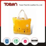 Fashion Yellow Canvas Beach Bag