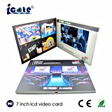Best Selling Customer Own Video Upload and Logo Imprinting Business Video Card