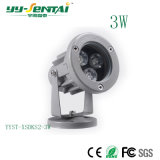 3W Waterproof LED Spotlight with Ce Certification