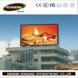Shenzhen Factory Outdoor Iron Cabinet P10 LED Billboard