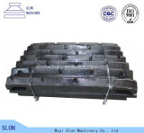 High Manganese Lippmann 42X48 Jaw Crusher Spare Parts Tooth/Jaw Plate