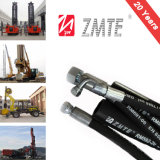 SAE 100r2at Hydraulic Hose Assembly with Customized Length Hose