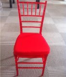 Clear Red Chiavari Tiffany Chair for Outdoor Party