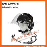 Paragliding Aviation Helemt Headset with Microphone