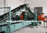 Automatic Rubber Powder Production Line, Waste Tire Recycling Machine