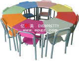 Kindergarten Furniture Kids Table Chair Metal Frame Chairs and Table for Children