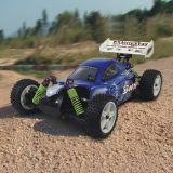 RC Car - 1/10th Scale 4wd Battery Powered off-Road Buggy - Booster (10070)