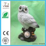 Bird Figurine Owl Figurine Solar Light Garden Decoration