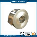 T5 Temper Golden Lacquered Electrolytic Tinplate Strip