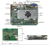 Fanless Intel Chipset Motherboard for Thin Client, HTPC (D2550-3-02)