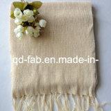 Hemp/Organic Cotton Dyed Scarf (HRS-5545)