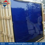 4-6mm Navy Blue Reflective Glass with