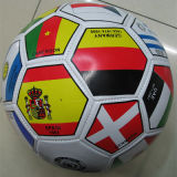 PVC National Flags Promotional Football