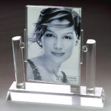 Armature de photo de cube en verre cristal (JD-XK-075)