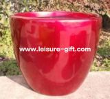 Fo-291 Tapered Round Fiberglass Flower Pot