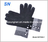 Lady′s iPad Wool Smartphone Touch Warm Gloves