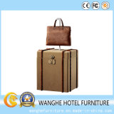 Hot Sale Europe Style Hotel Luggage Design Cabinet for Side Table