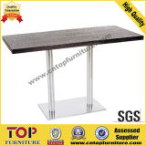 Long Strong Coffee Dining Table