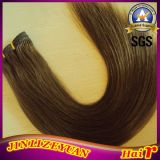 Brown Color Human Hair Extension Virgin Peruvian Hair