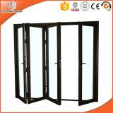 4 Panels Thermal Break Aluminum Bi Fold Door Powder Coating