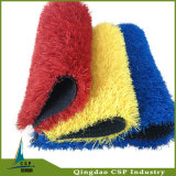 Red Blue Yellow Landscape Grass for School