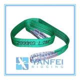 2t Polyester Webbing Sling ISO4878/En1492-1/Asme B30.9