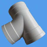 Tee Bottle Neck PVC Pipe Fitting for Drainage