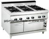 Gas 6-Burner Range with Electric Oven (LUR- 890-6EV)