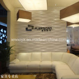 Acoustic Sound Fireproof 3D PVC Wall Board for Furniture Stores
