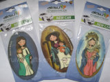 Car Paper Air Freshener with Religion Design (AF101-2)