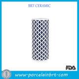 Nomal Painting Ceramic Cylinder Vase