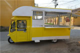 Electric Restaurant Tricycle of Cooking and Snack Foodstuffs as Mobile Street Vehicle