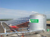 Solar Water Heating System for Large Project