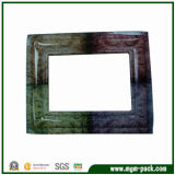 High Glossy Finishing Wooden Picture Frame with 4 Colors