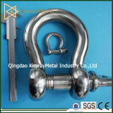 European Type Stainless Steel Bow Shackle