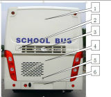 Bus Parts for Rear Wall (Chang An SC 6881)