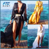Summer Women Bikini Cover up Swimwear Kaftan Long Beach Dress