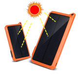 10000mAh Silicon Solar Panel Charger Battery Power Bank Pb-Ss002