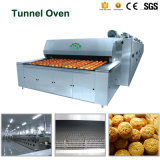 Professional Production Line Electric Gas Tunnel Oven for Food Factory Bds-14D