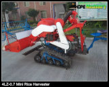 Small Combine Harvester for Rice and Wheat