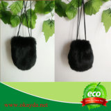 Wholesale Price Real Rabbit Fur Pouch Made in China
