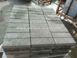 Black Granite Chiselled Paving Stone