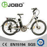"26""250W Alloy Brushless Lady Electric Bike 16ah Lithium Battery"