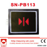 Rectangle Push Button for Elevator (CE, ISO9001)