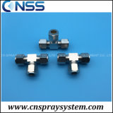 3/8 PE Tube T Connector Three Way Fitting