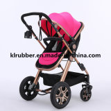 New High Landscape Baby Pram 3-in-1 Baby Stroller